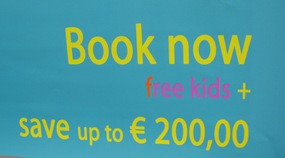 Book now free kids + save up to € 200,00