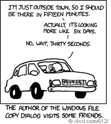 XKCD - estimation