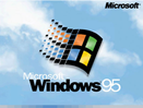 splash screen - Windows 95