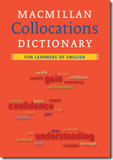 descrizione del Macmillan Collocations Dictionary