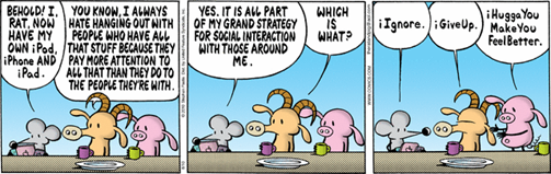 """my grand strategy for social interaction with those around me"""