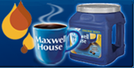 "immagine dal sito ufficiale Maxwell House (""be good to the last drop"")"