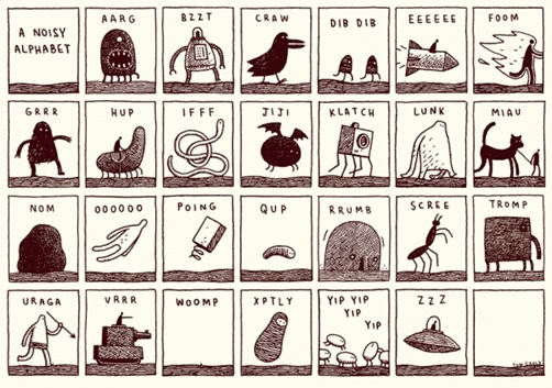 A Noisy Alphabet
