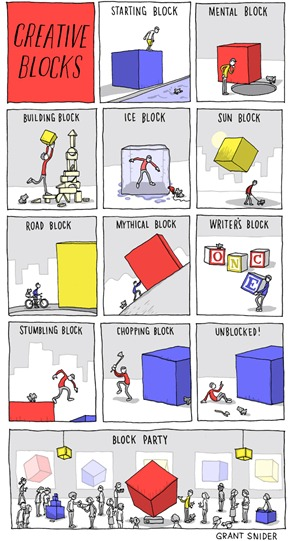 Creative Blocks  Incidental Comics