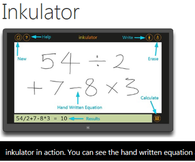 Inkulator in action