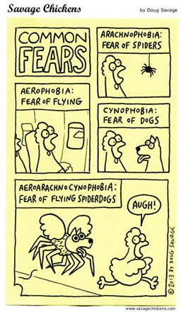 Common fears – vignetta Savage Chickens
