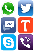 """social messaging apps"""