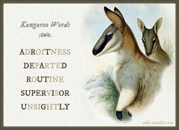 Kangaroo words