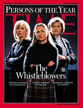 TIME Persons of the year 2002 – The Whistleblowers
