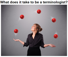 What does it take to be a terminologist?