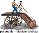 parbuckle - illustrazione Merriam-Webster