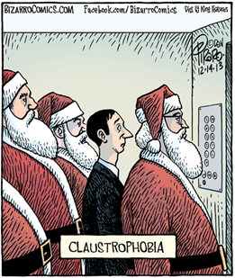 """""""Claustrophobia"""" in an American elevator"""