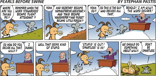 Willy the word decider – Pearls Before Swine