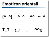 emoticon orientali