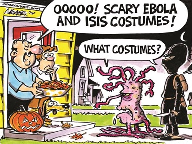 SCARY EBOLA AND ISIS COSTUMES!