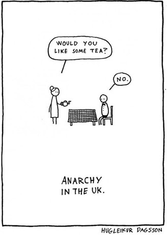 ANARCHY IN THE UK – HUGLEIKUR DAGSSON