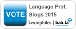 Vota Terminologia etc. al concorso Top Language Professional Blogs 2015