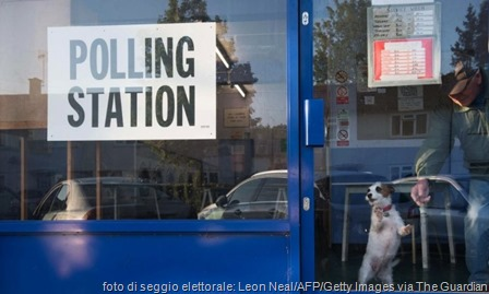 How much is that ...? A doggy in the window of the Headington launderette polling station outside Oxford – The Guardian