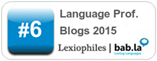 Top 25 Language Professionals Blogs 2015
