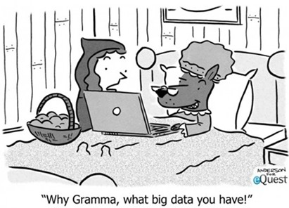 """Why Gramma, what big data you have!"""
