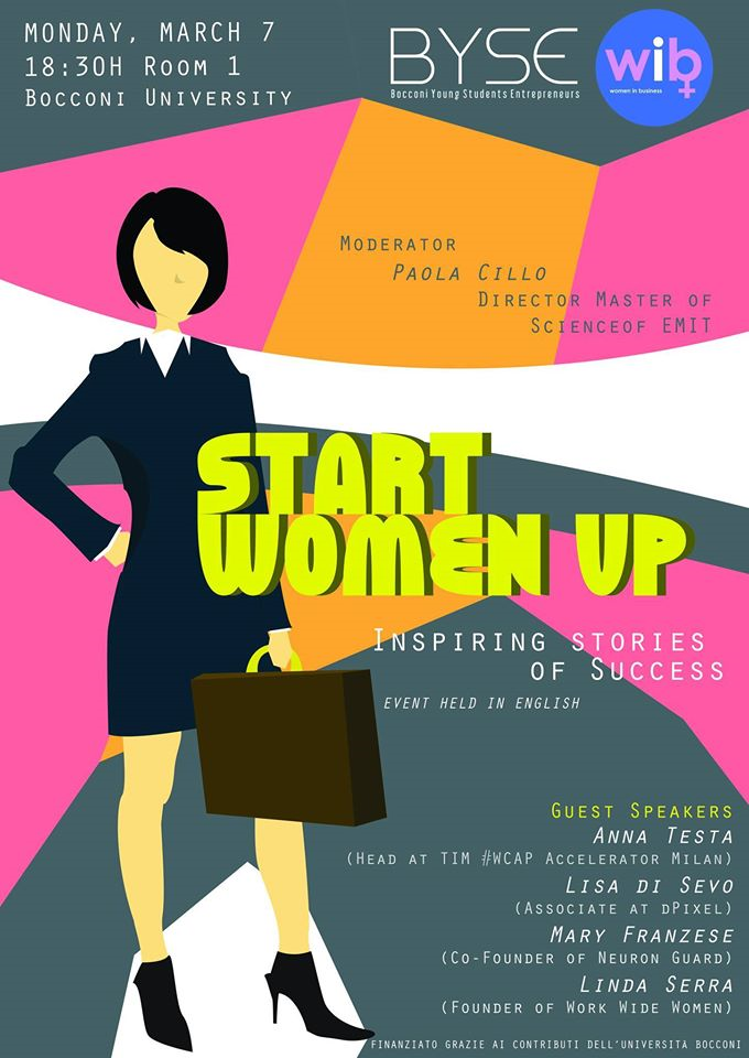 START WOMEN UP - INSPIRING STORIES OF SUCCESS