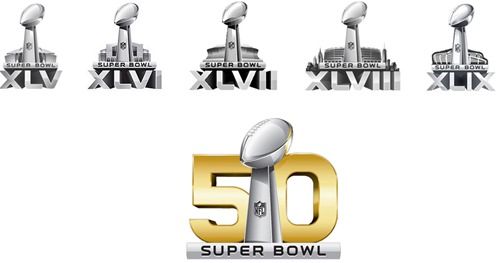 loghi Super Bowl