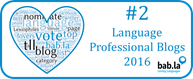 Ranked 2nd in the Top 25 Language Professionals Blogs 2016