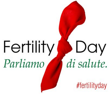 Fertility Day Parliamo di salute. #fertilityday