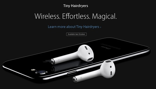 Tiny Hairdryers. Wireless. Effortless. Magical.