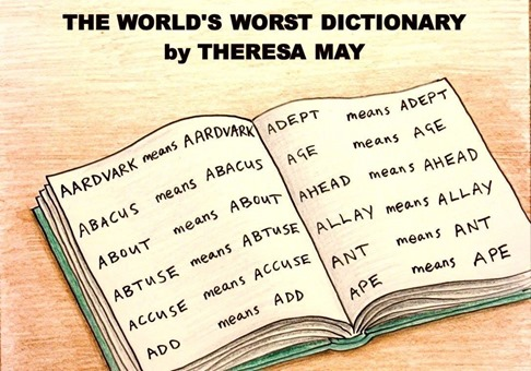 THE WORLD'S WORST DICTIONARY by THERESA MAY