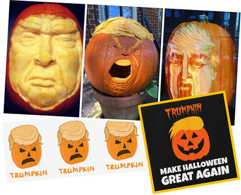 TRUMPKIN – MAKE HALLOWEEN GREAT AGAIN