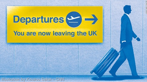 "Immagine da ""Exit before Brexit: The 'unwelcome' EU citizens eying their escape"" – CNN"