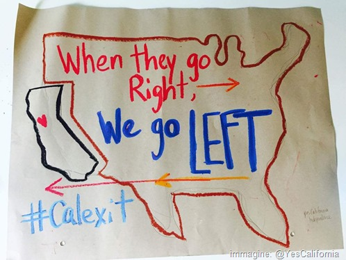 When they go Right, We go LEFT #Calexit