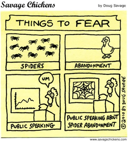 THINGS TO FEAR: PUBLIC SPEAKING