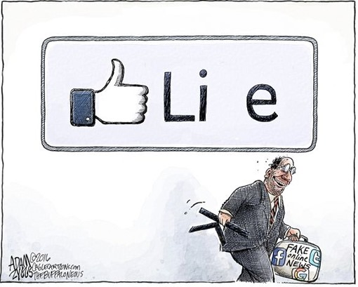 da Like a Lie – Fake online news