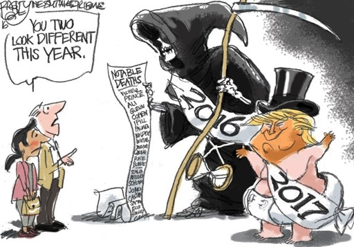 Pat Bagley cartoon: Listicle of Death