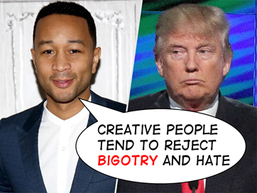 John Legend on bigotry