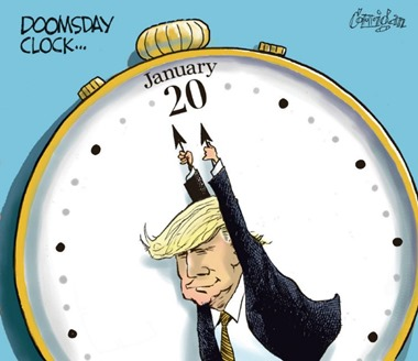 DOOMSDAY CLOCK…