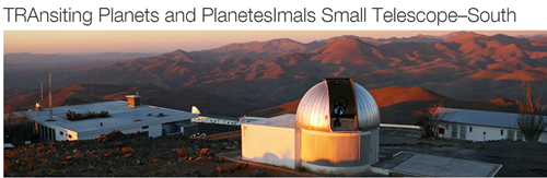 Transiting Planets and Planetesimals Small Telescope–South