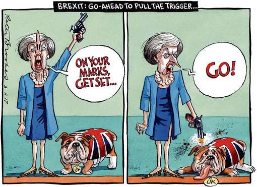 BREXIT: PULL THE TRIGGER