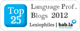 Top 25 Language Professionals Blogs 2012