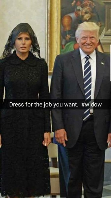 dress for the job you want  #widow