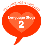 Ranked 2nd in the Top 25 Language Professionals Blogs 2017