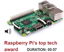 Raspberry Pi's top tech award