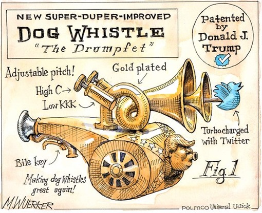 "Dog whistle ""The Drumpfet"""