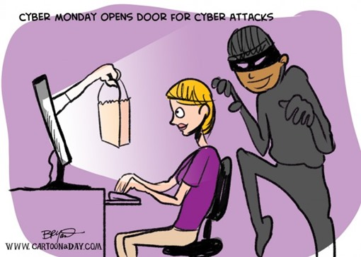 Cyber Monday opens door for cyber attacks