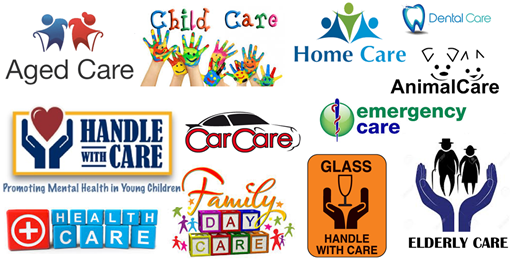 "tipi di ""care"" in inglese: aged care, child care, home care, dental care, car care, emergency care, animal care, health care, day care, elderly care, handle with care"