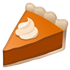 emoji pumpkin pie