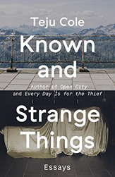 copertina del libro Known and Strange Things di Teju Cole