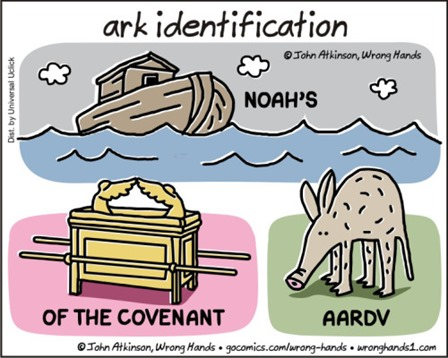 ark identification: Noah's X, X of the Covenant, AardvX